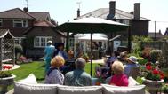 open garden charity event